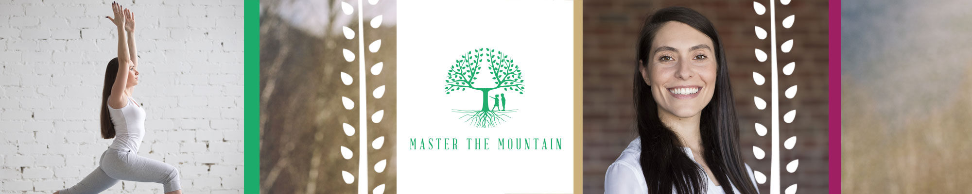 Master the Mountain logo banner