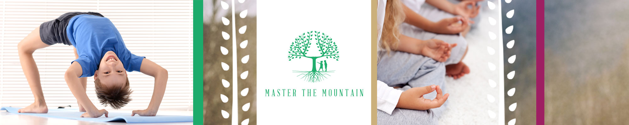 Free yoga and mindfulness resources - logo banner