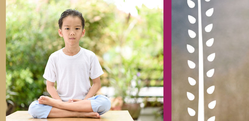 Yoga and mindfulness incursions - mobile banner